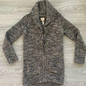 Women's Wilfred Zippered Wool Cardigan